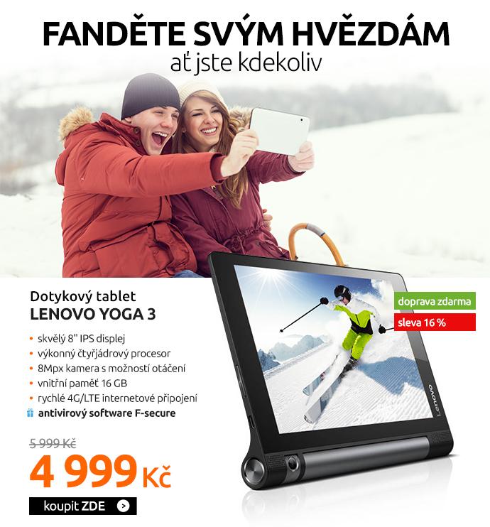 Dotykový tablet Lenovo Yoga 3