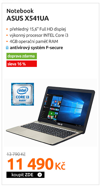 Notebook Asus X541UA