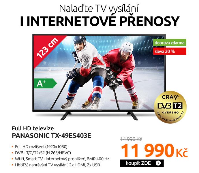 Full HD televize Panasonic TX-49ES403E