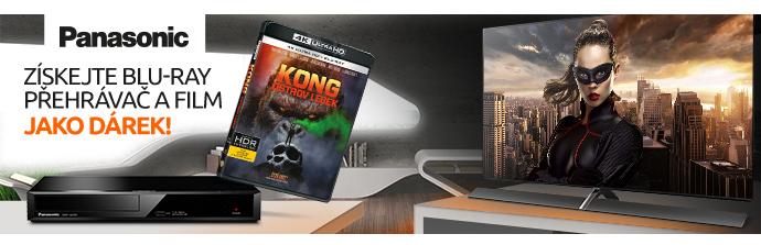 Blu-ray přehrávač jako dárek k OLED TV Panasonic
