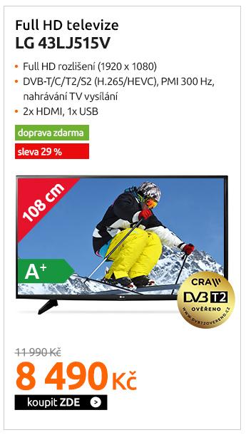 Full HD televize LG 43LJ515V