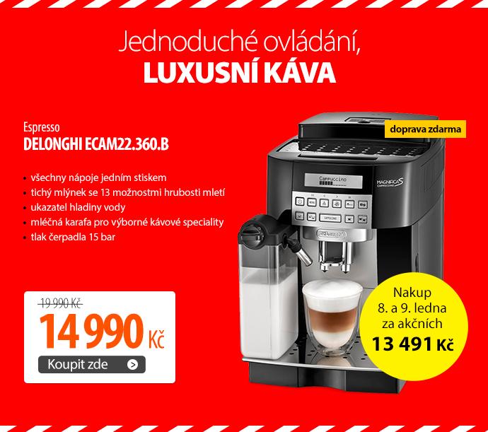 Espresso DeLonghi ECAM22.360.B