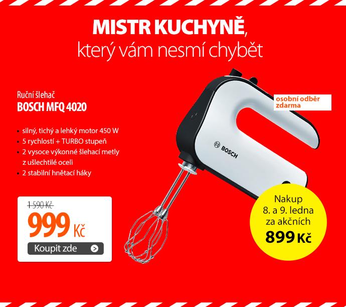 Ruční šlehač Bosch MFQ 4020