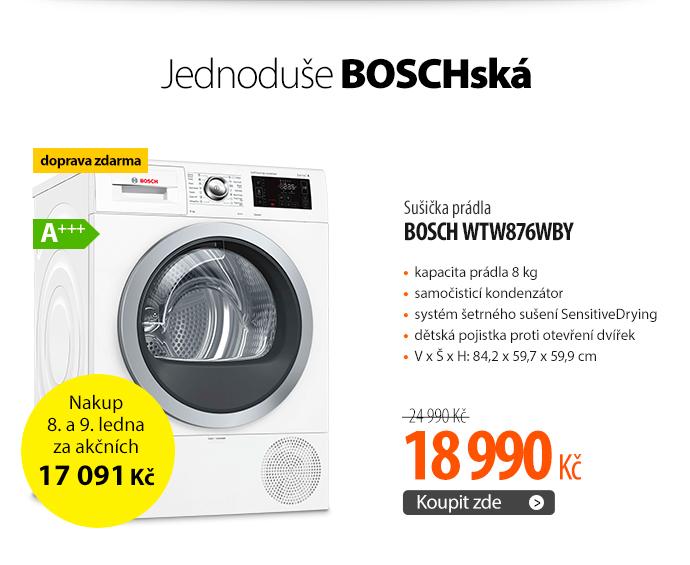 Sušička prádla Bosch WTW876WBY