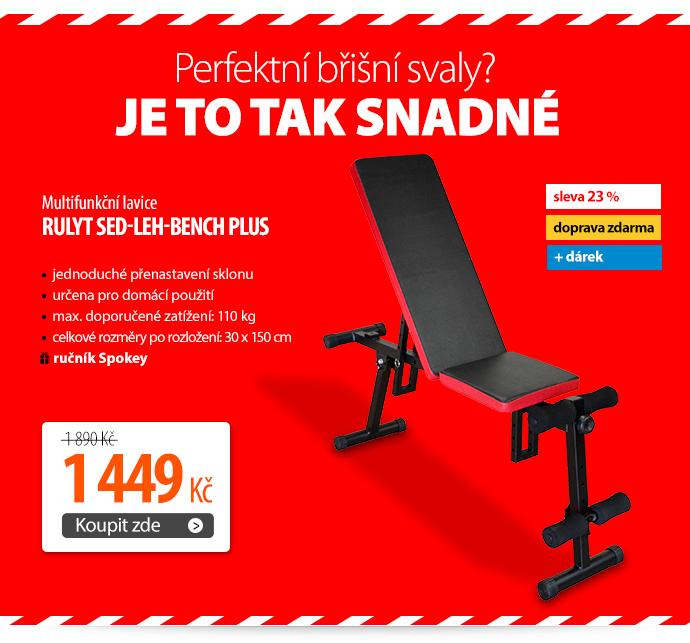 Multifunkční lavice Rulyt sed-leh-bench plus