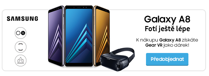 Samsung Galaxy A8 - předobjednávky + dárek