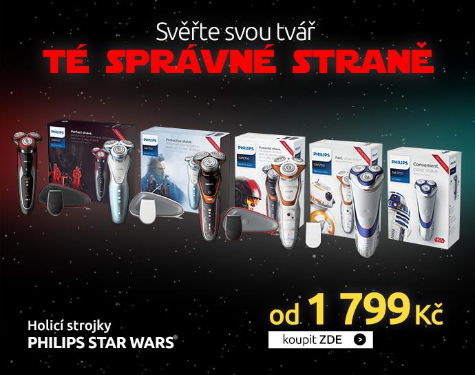 Holicí strojky Philips Star Wars