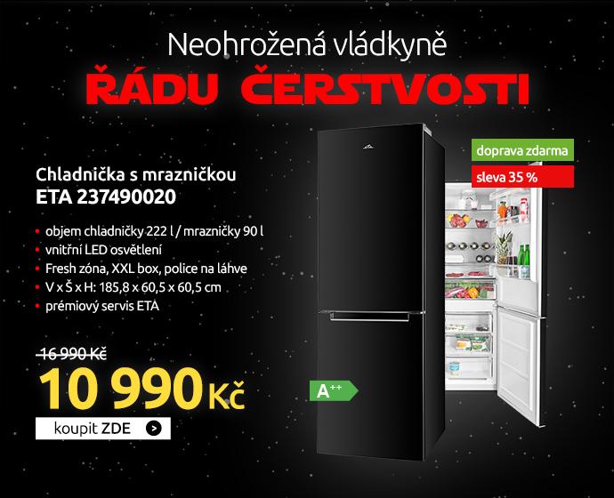 Chladnička s mrazničkou ETA 237490020