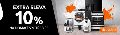 EXTRA SLEVA 10 % na domácí spotřebiče