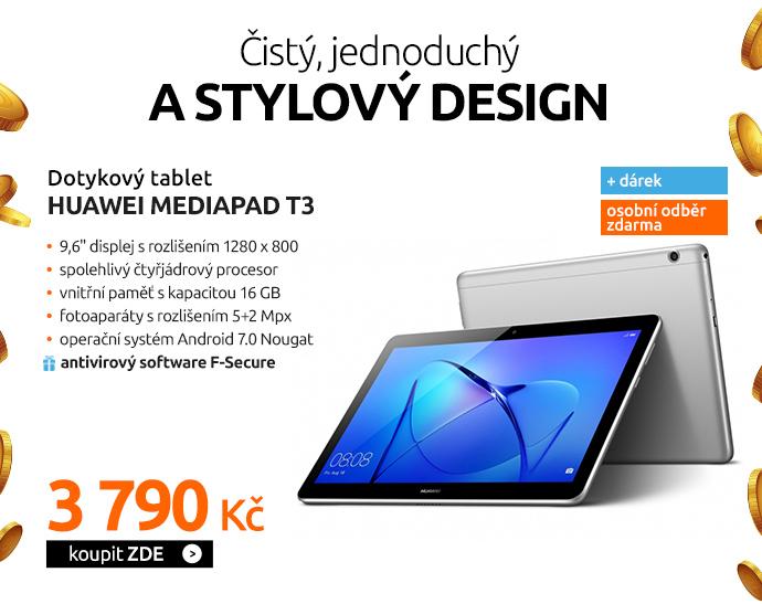 Dotykový tablet Huawei MediaPad T3