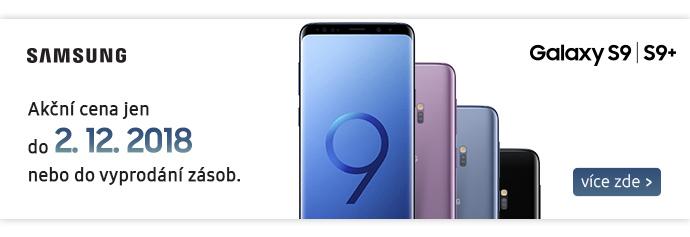 Víkendová sleva Samsung Galaxy S9