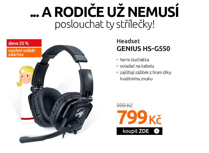 Headset Genius HS-G550