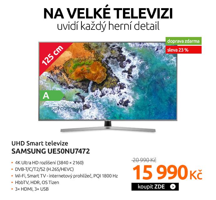 UHD Smart televize Samsung UE50NU7472