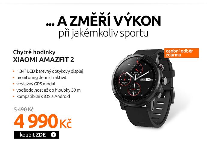Chytré hodinky Xiaomi Amazfit 2