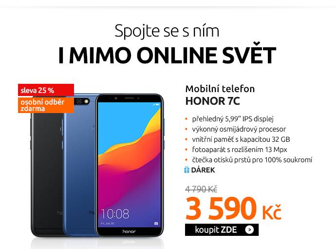 Mobilní telefon Honor 7C