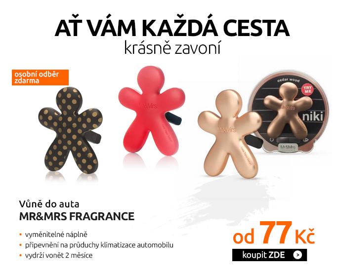 Vůně do auta Mr&Mrs FRAGRANCE