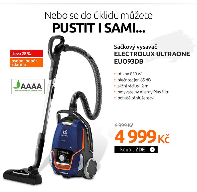 Sáčkový vysavač Electrolux UltraOne EUO93DB