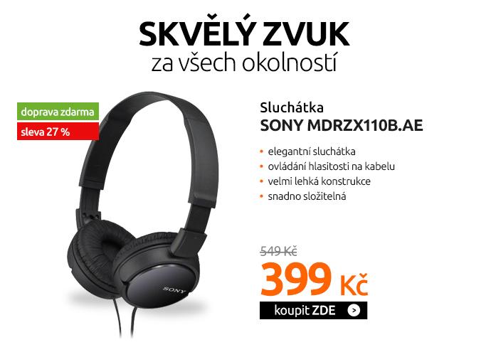Sluchátka Sony MDRZX110B.AE