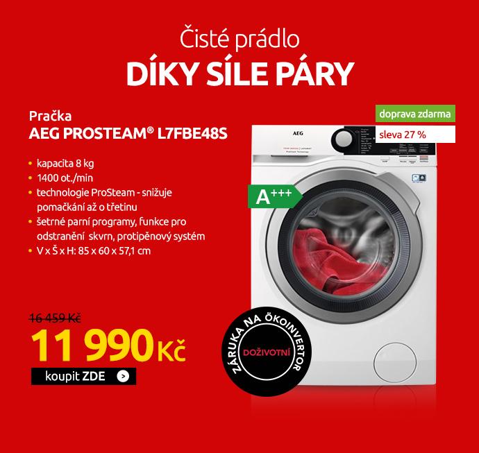 Pračka AEG ProSteam® L7FBE48S