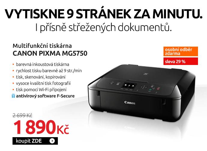 Tiskárna multifunkční Canon PIXMA MG5750
