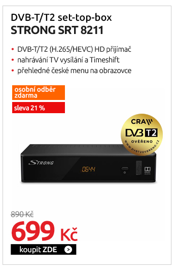 DVB-T/T2 set-top-box Strong SRT 8211