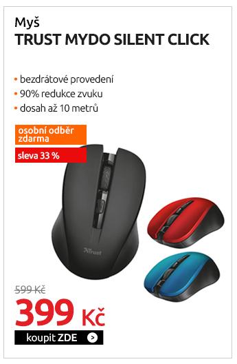 Myš Trust Mydo Silent Click