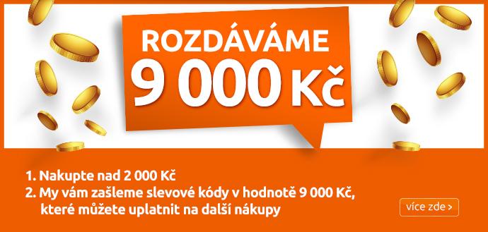 Rozdáváme 9000 Kč