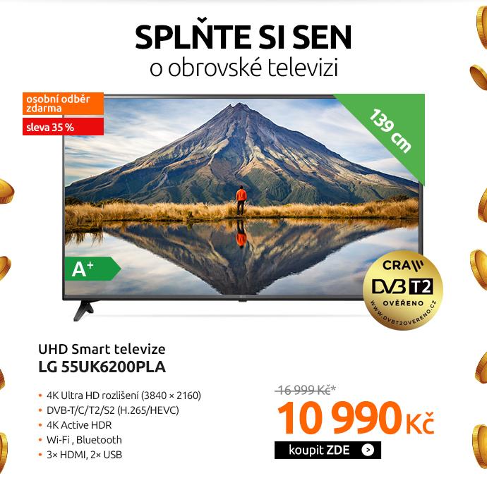 UHD Smart televize LG 55UK6200PLA