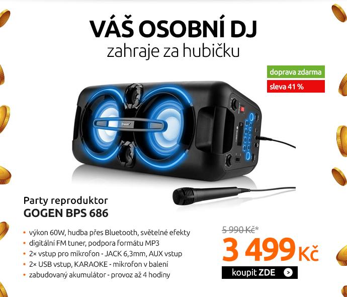 Party reproduktor GoGEN BPS 686