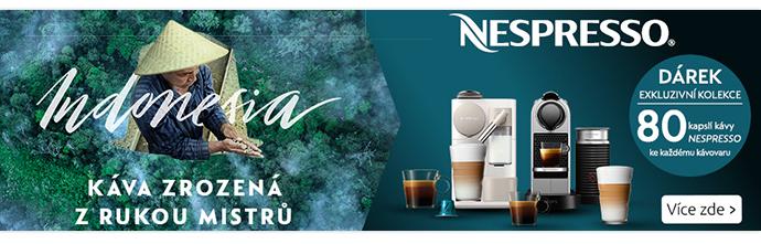 Nespresso poukaz v hodnotě 2000Kč