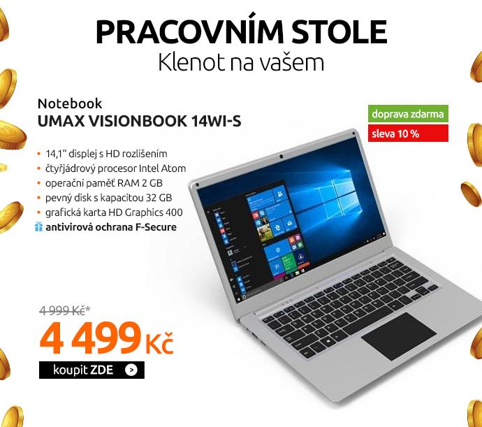 Notebook Umax VisionBook 14Wi-S