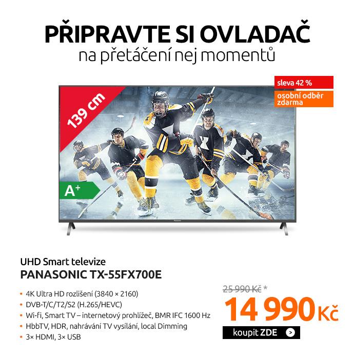 UHD Smart televize Panasonic TX-55FX700E