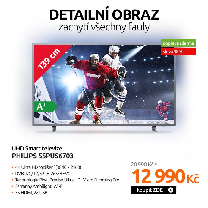 UHD Smart televize Philips 55PUS6703