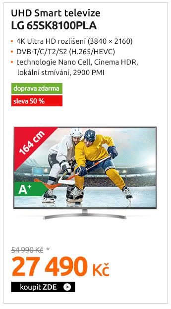UHD Smart televize LG 65SK8100PLA