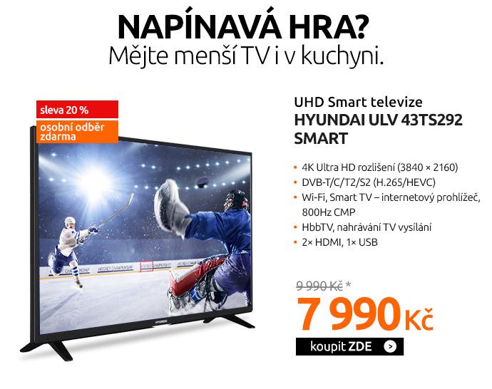 UHD Smart televize Hyundai ULV 43TS292 SMART
