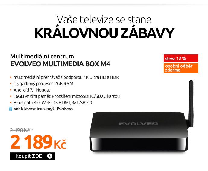 Multimediální centrum Evolveo MultiMedia Box M4