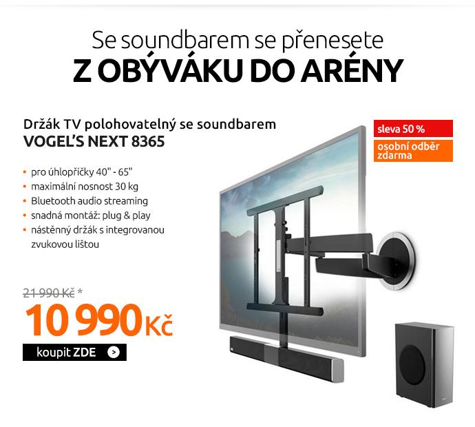 Držák TV Vogel's NEXT 8365 polohovatelný se soundbarem