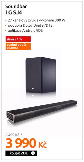 Soundbar LG SJ4