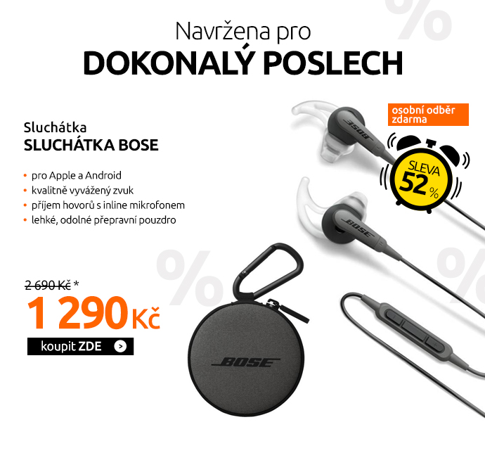 Sluchátka Bose SoundSport IE