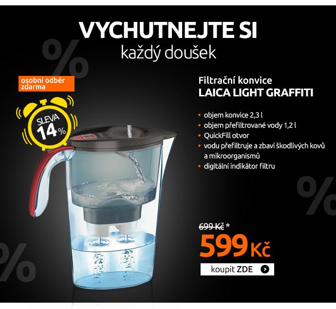 Filtrační konvice Laica Light Graffiti