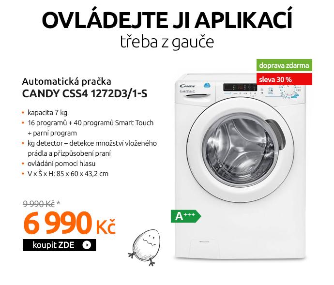 Automatická pračka Candy CSS4 1272D3/1-S