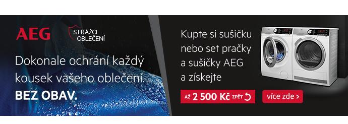 AEG cashback až 2500Kč
