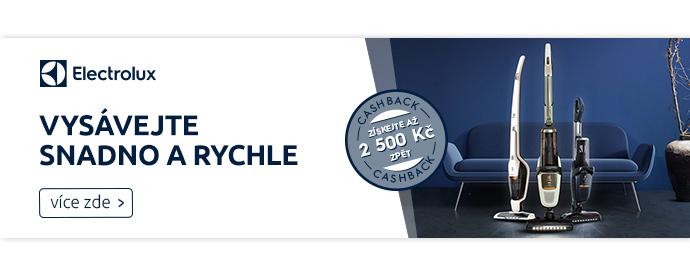 Electrolux s cashbakem až 90 €