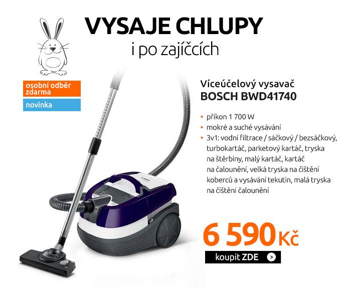 Víceúčelový vysavač Bosch BWD41740