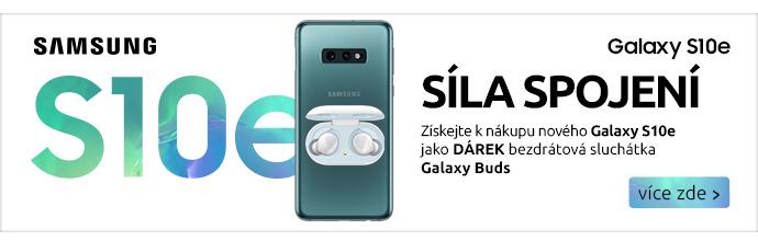 Samsung Galaxy S10e + sluchátka Buds