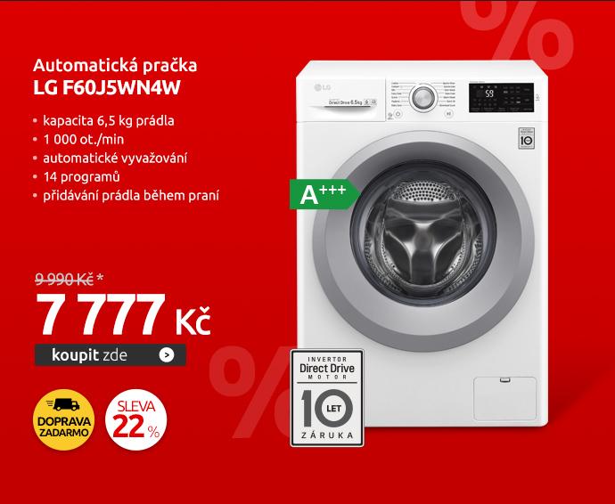 Automatická pračka LG F60J5WN4W