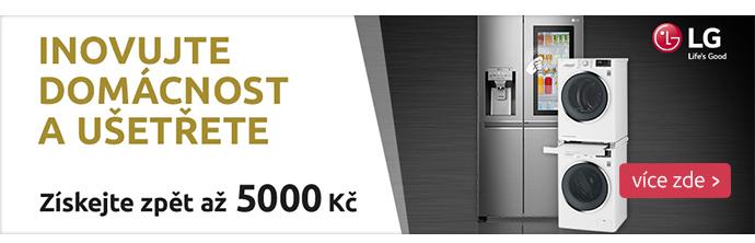 LG cashback až 5000 Kč