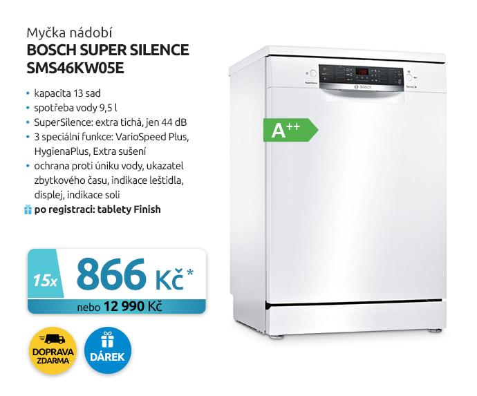 Myčka nádobí Bosch Super Silence SMS46KW05E