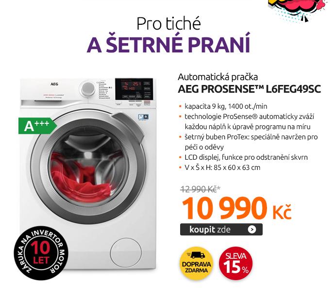 Automatická pračka AEG ProSense™ L6FEG49SC