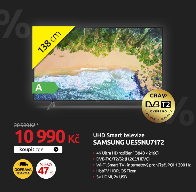 UHD Smart televize Samsung UE55NU7172